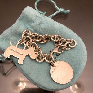 Tiffany and Co Bracelet Scotty Dog